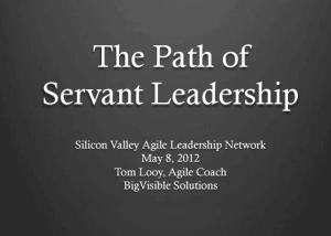 Tom Looy: Path of Servant Leadership