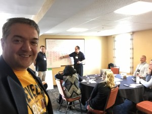 Victor Bonacci was co-organizer of the Scrum Coaching Retreat, San Diego 2016