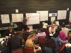 Stuart Young at Scrum Coaching Retreat, San Diego 2016